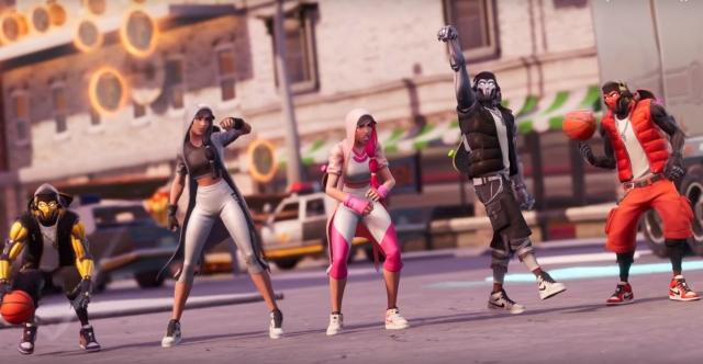 Epic Games выпустили новое обновление для Fortnite совместно с Air Jordan