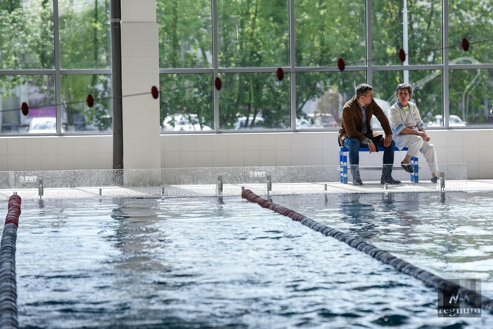 Плавательный бассейн МГСУ
