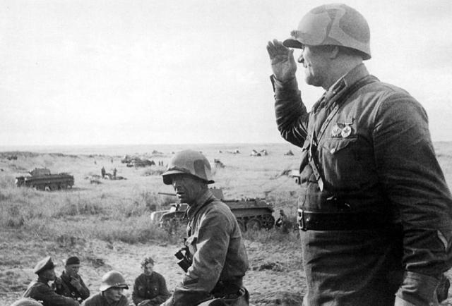 Части РККА перед наступлением. 1939