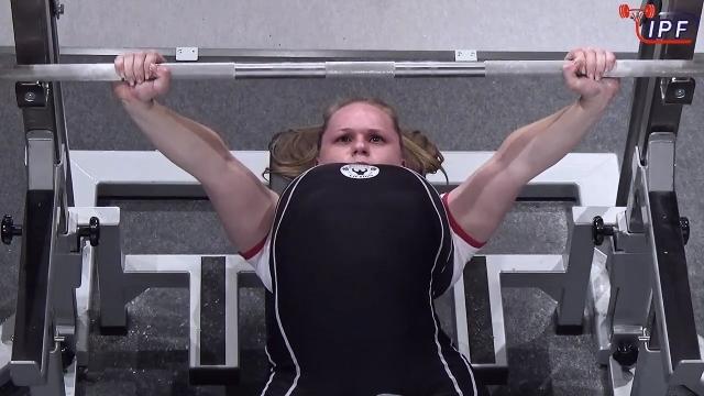 Петербургская спортсменка с ПОДА выступила вместе со здоровыми спортсменами