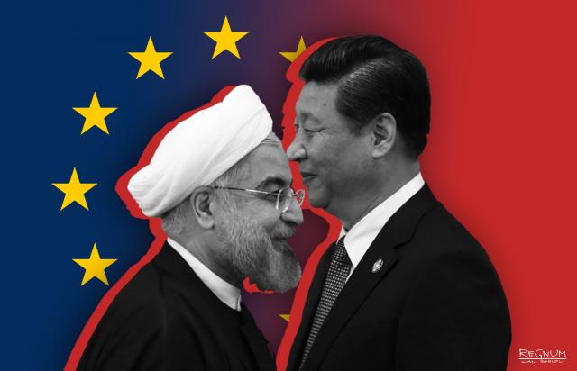 Си цзиньпин и  Рухани