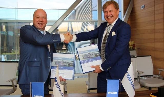 Эстония строит собственный терминал СПГ