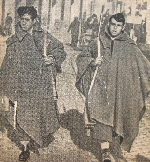 Патруль республиканцев. Мадрид. Осень 1936 года