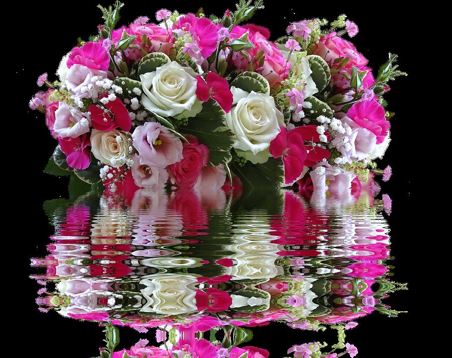 Открытка букет цветов гиф, открытки
