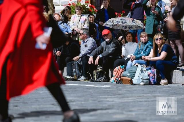 Празднование Дня славянской письменности на Красной площади