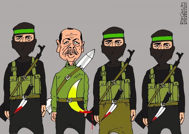 Эрдоган в шеренге