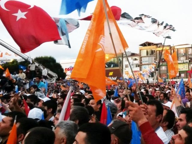 Турецкий митинг