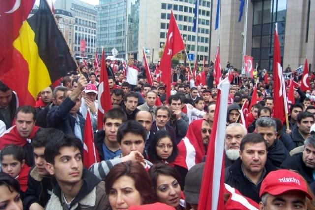 Турецкое население Бельгии