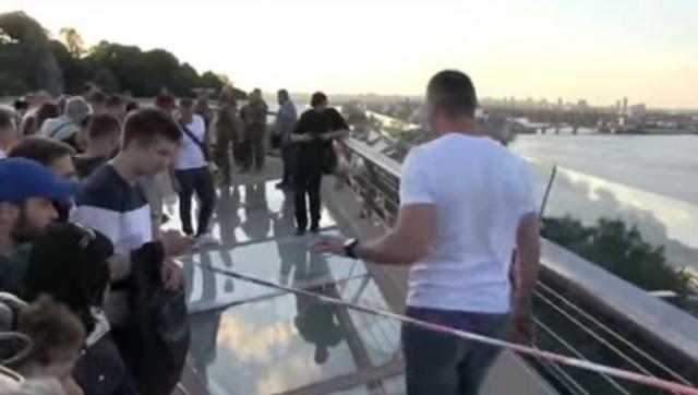 Кличко рассказал о состоянии поврежденного моста в Киеве