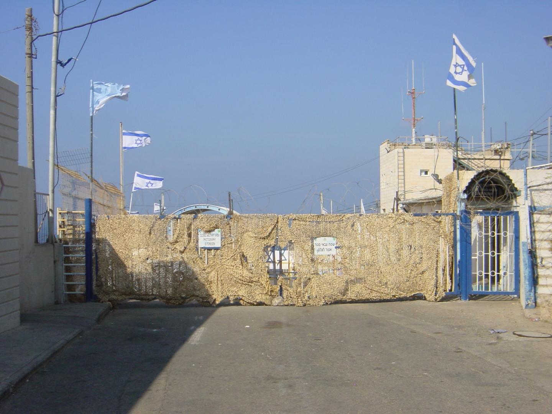На границе Израиля