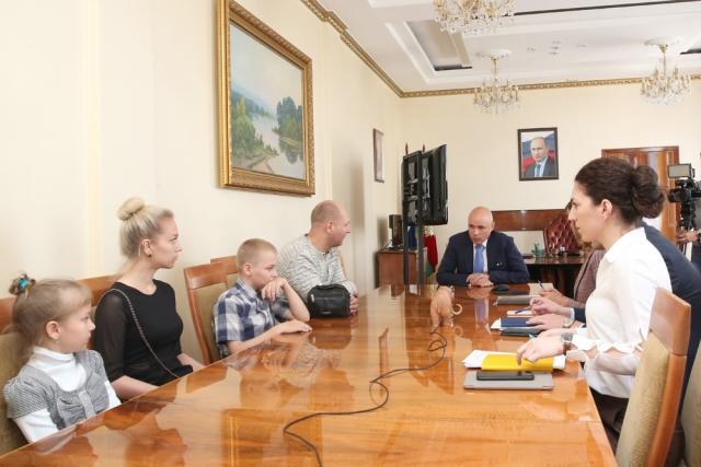 Липецкая семья стала первым участником программы «Свой дом под ключ»