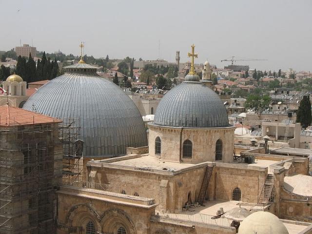 Три Церкви достигли соглашения о реконструкции храма Гроба Господня