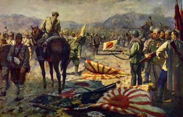 Павел Судаков. Капитуляция японской армии. 1948
