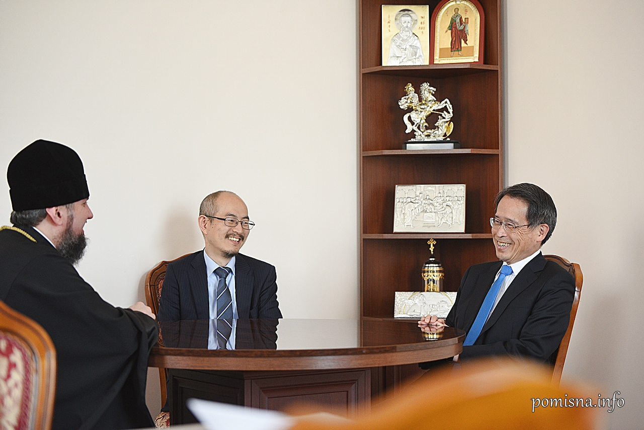 Встреча Епифания и Такаши Кура