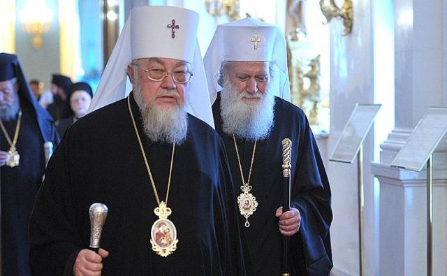 Митрополит Варшавский и всея Польши Савва (на переднем плане)