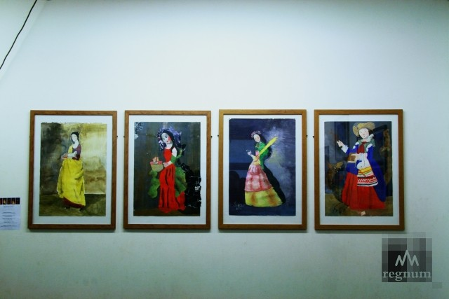 Работы с выставки «Маленькая история искусства. Золотой век» — «Святые жены»