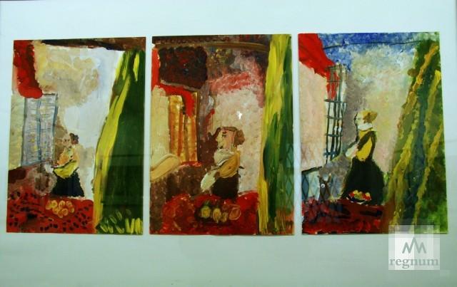 Работы с выставки «Маленькая история искусства. Золотой век» — «Женщина, читающая письмо»