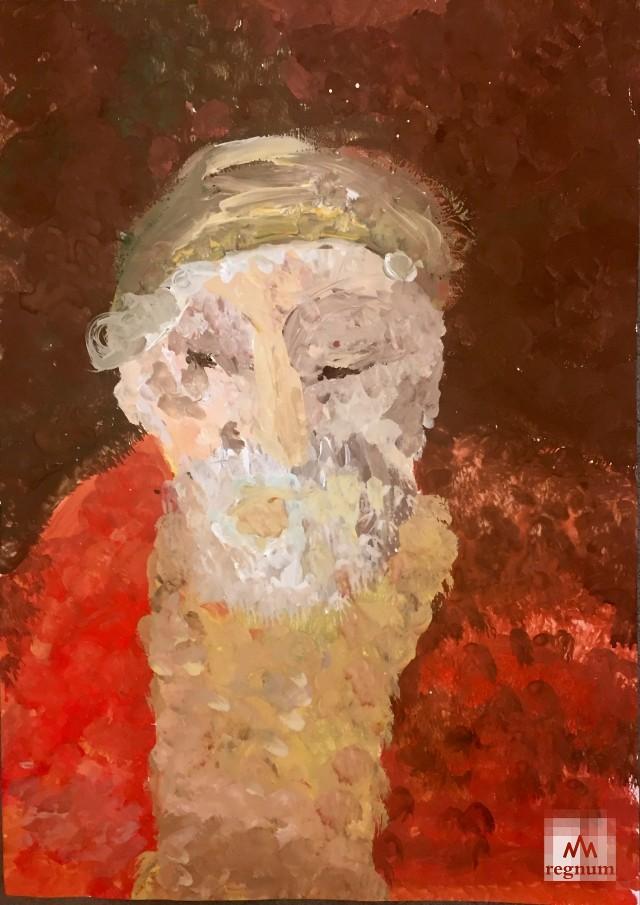Работа с выставки «Маленькая история искусства. Золотой век»
