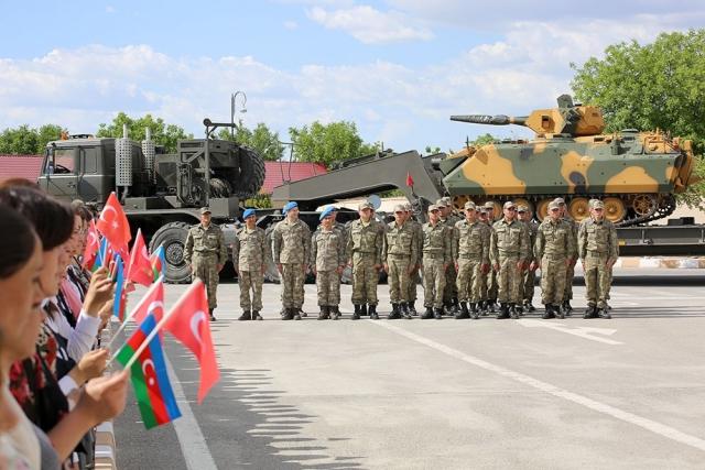 Турецкие военные прибыли в Нахчыван для участия в учениях «Нерушимое братство — 2019»
