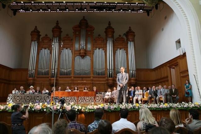 Путин поздравил выпускников Московской консерватории со 150-м выпуском