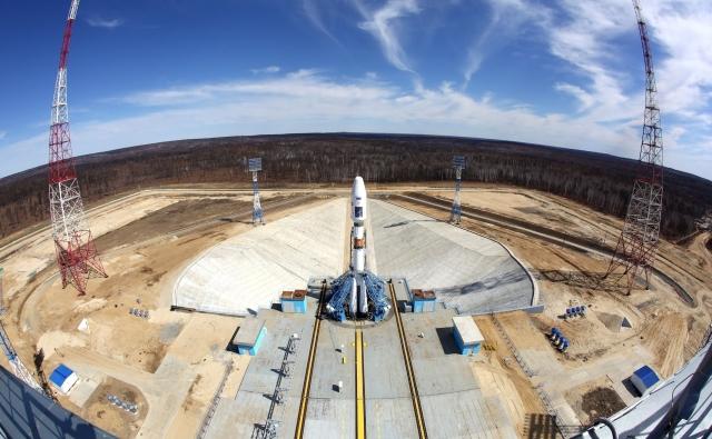 Строительство «Восточного» контролируют спутники с орбит – Роскосмос