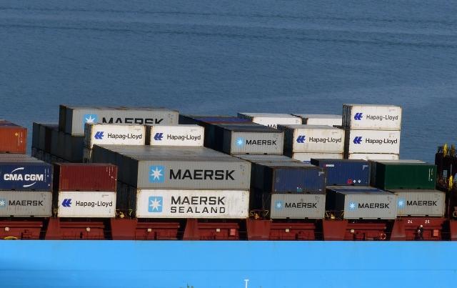 Судно-контейнеровоз. Maersk