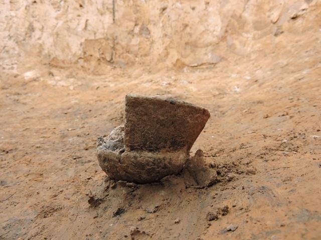 Найденный в захоронении топор
