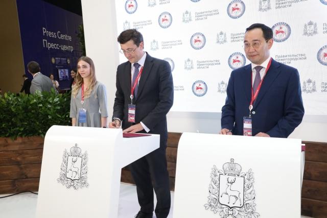 Глеб Никитин и Айсен Николаев
