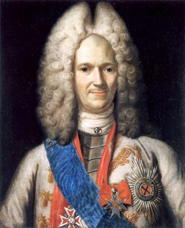 Светлейший князь А. Д.Меньшиков — возможно, был одним из клиентов Жана Пижона