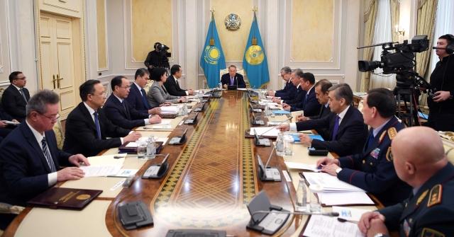 Заседание Совета Безопасности Казахстана
