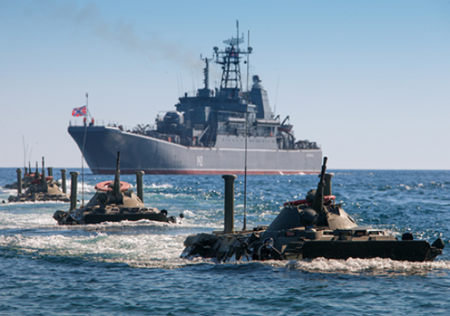 На учениях Балтийского флота погиб морской пехотинец