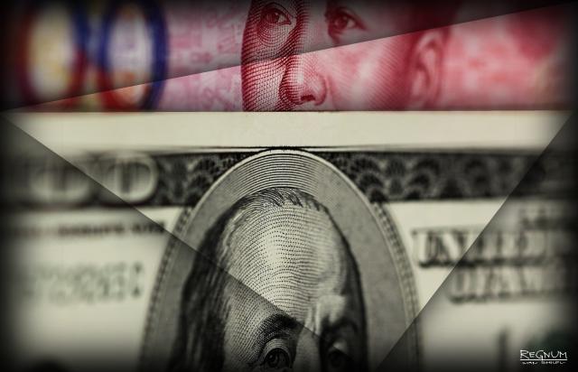 Курс юаня опустился до отметки  6,8932 за доллар США