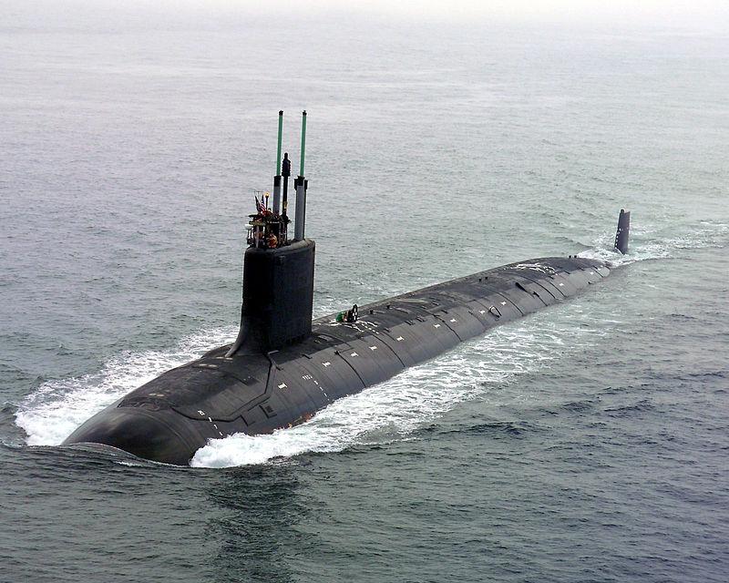 Американская подводная лодка типа «Вирджиния»