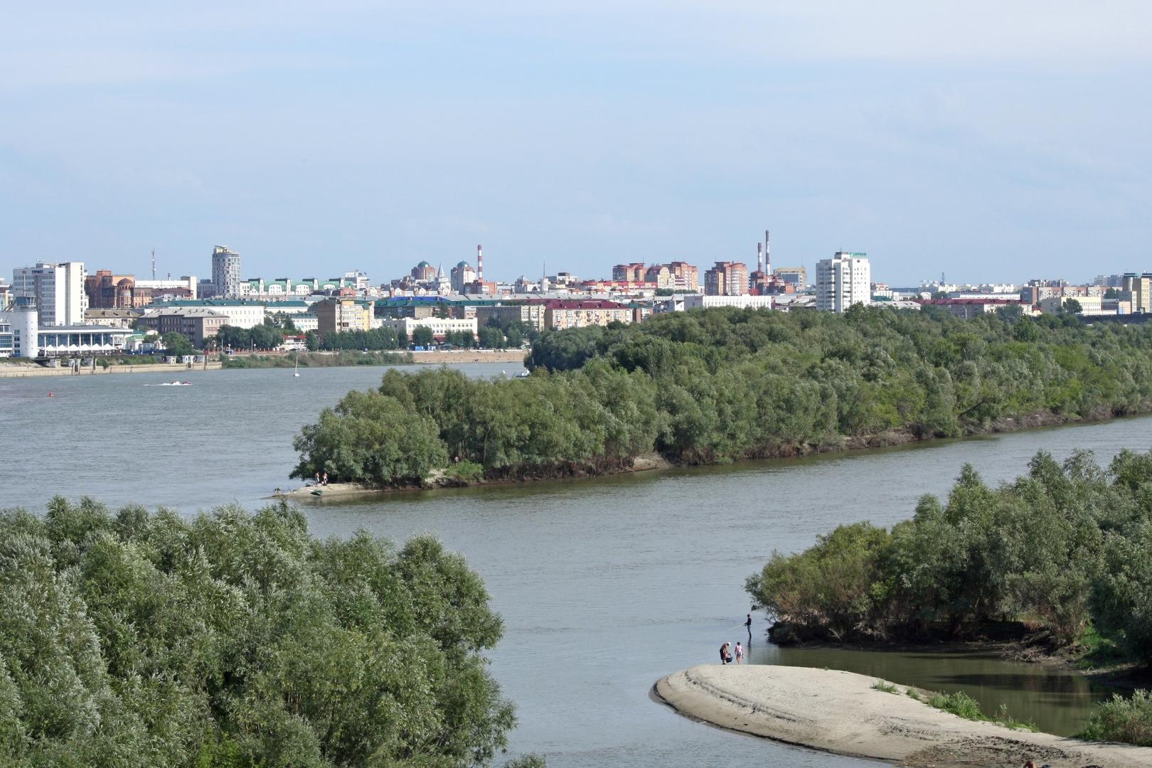 омск правый берег иртыша фото города главное достоинство состоит