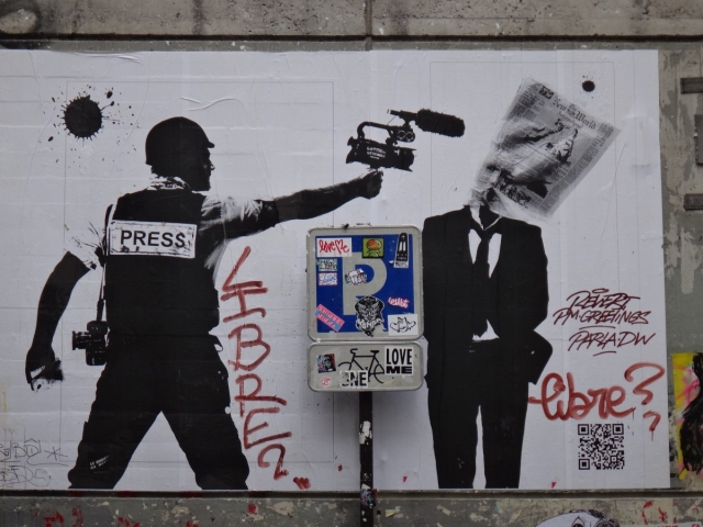 Стрит-арт. Пресса