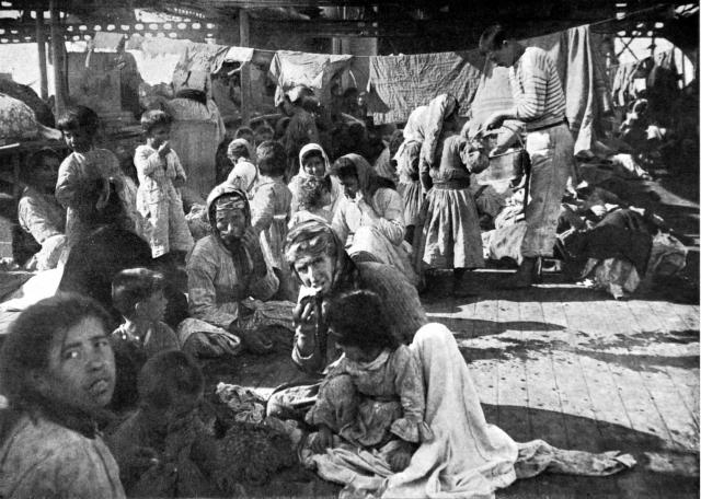 Армянские беженцы. 1915