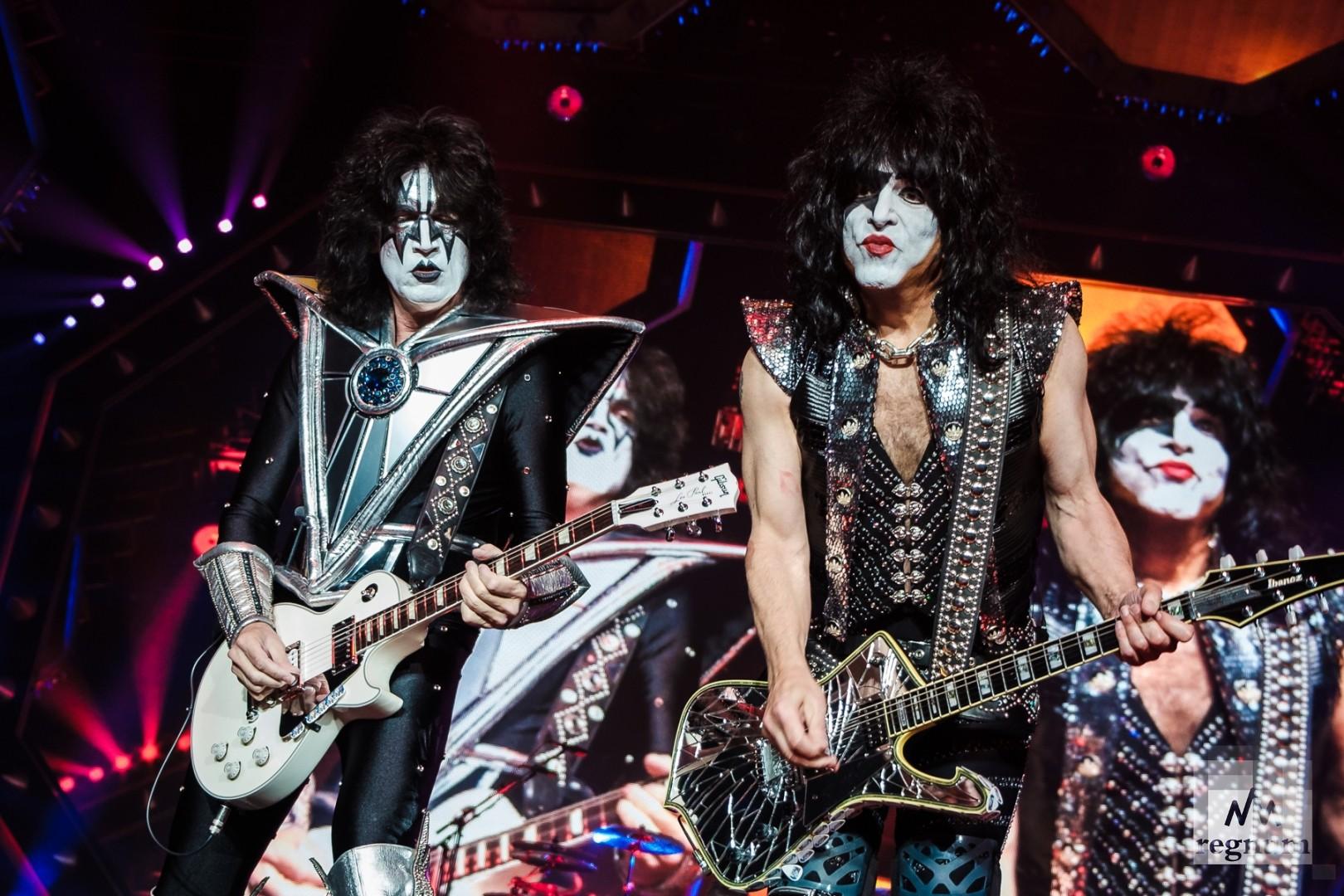 Группа «Kiss» в Ледовом дворце