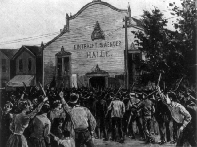 Чарльз Ментес. Гомстедовская стачка на заводе Карнеги. 1892