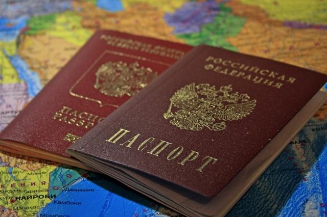 Первые российские паспорта выданы жителям Донбасса