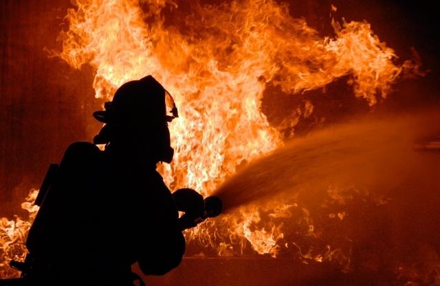 На военном полигоне под Воронежем потушили пожар