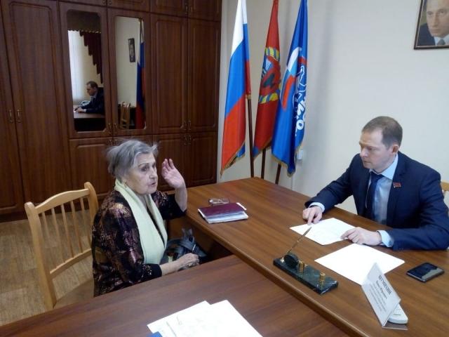 Депутатский приём избирателей Павла Шумихина