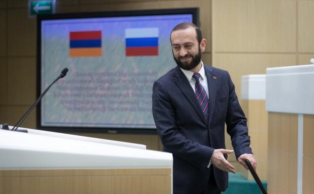Арарат Мирзоян в Совете Федерации РФ