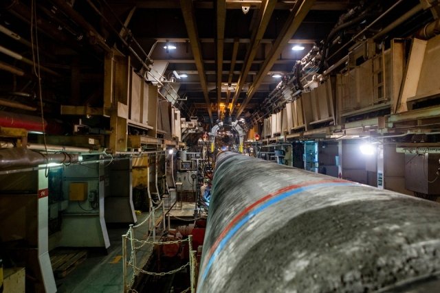 Сварка труб для трубопровода «Северный поток — 2»