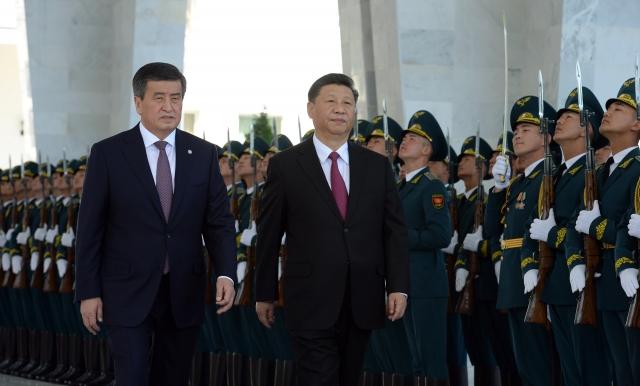 Сооронбай Жээнбеков и Си Цзиньпин