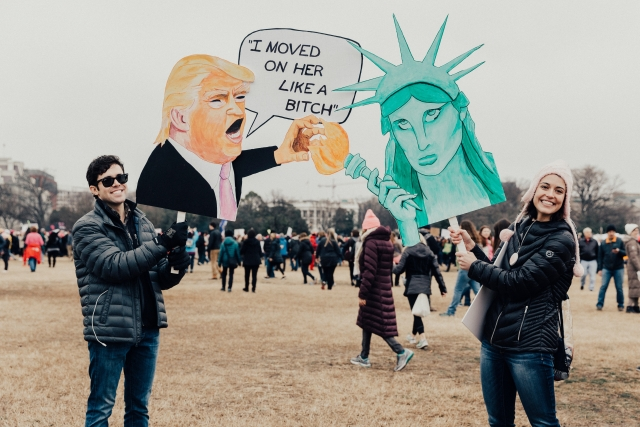 Антитрамповский протест