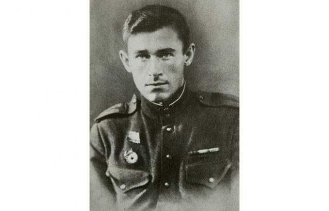 Курсант школы ГУКР Смерш Филипп Бобков. 1945
