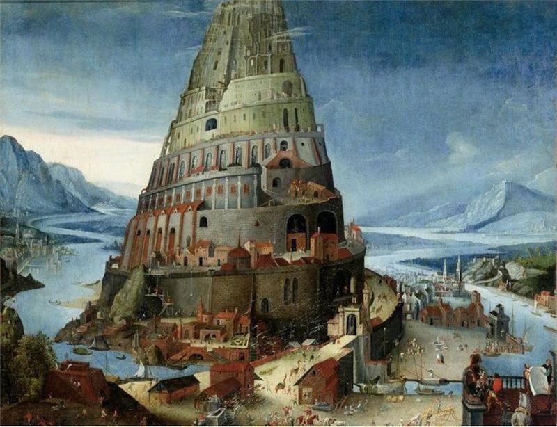 Тобиас Верхахт. Вавилонская башня
