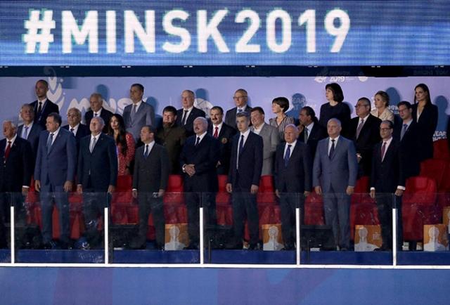 Церемония открытия II Европейских игр, 21 июня 2019 года
