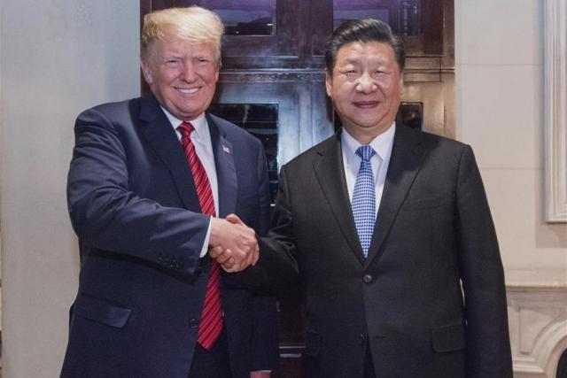 Дональд Трамп и Си Цзиньпин на саммите «Большой двадцатки» в Буэнос-Айресе