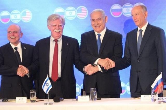 Встреча секретарей советов безопасности России, Израиля и США